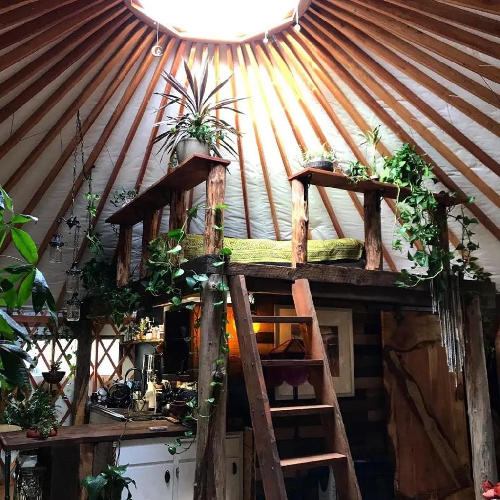 beautiful yurt