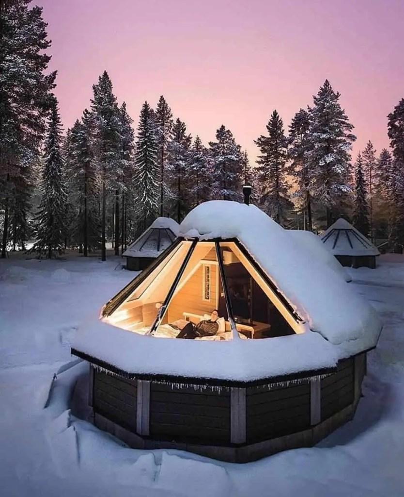 warm and cozy tiny house
