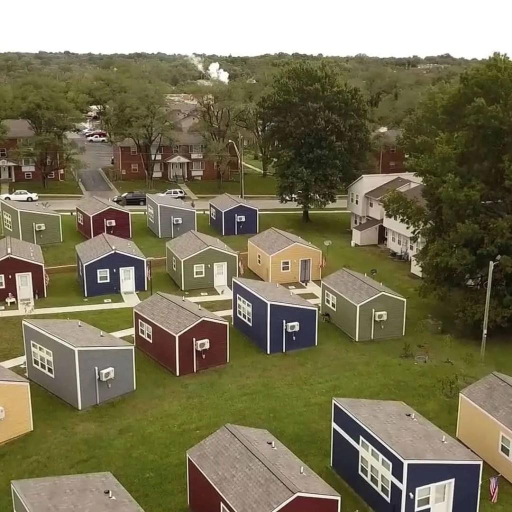 tiny house community for veterans