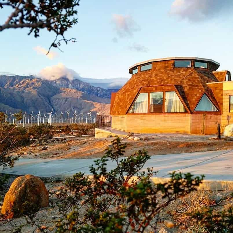 Palm springs dome house