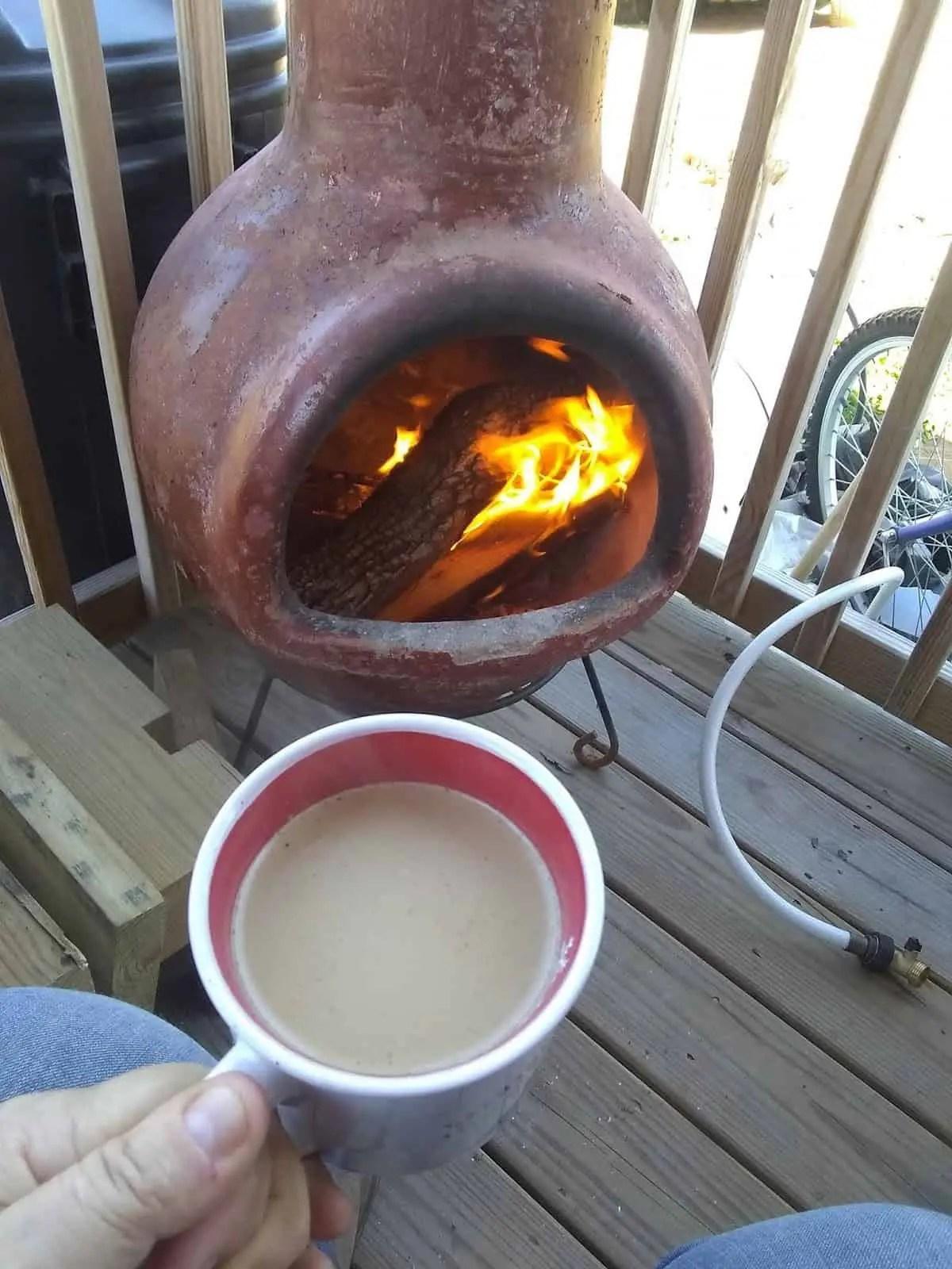 campfire stove during coronavirus