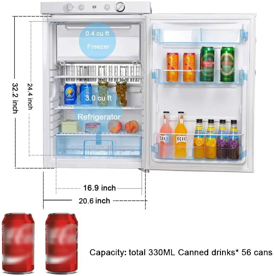 smeta propane refrigerator review