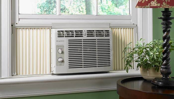 window ac unit for off grid home