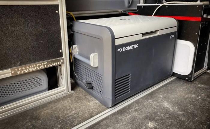 Dometic CFX 100W 12v Electric Powered Portable Cooler, Fridge Freezer