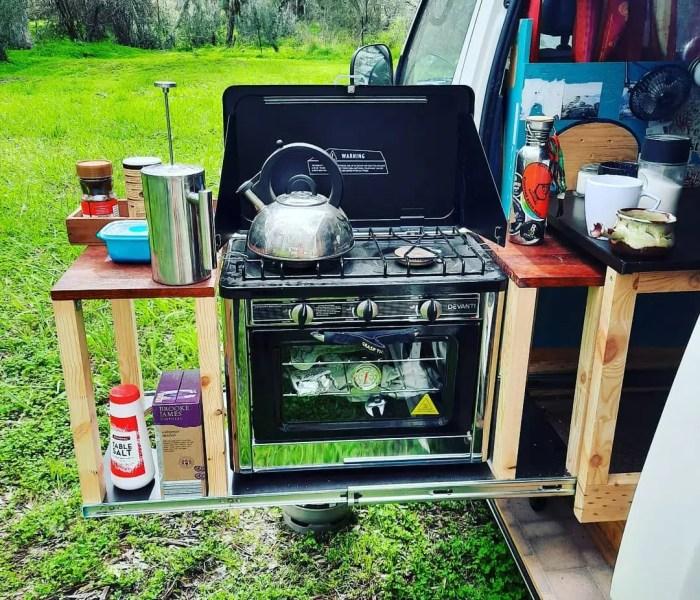 amazing campervan stoves
