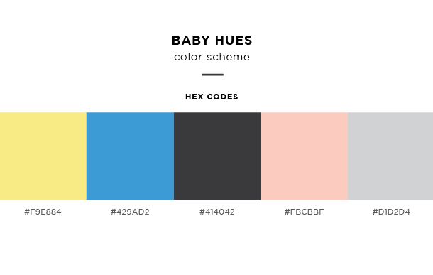 baby hues color scheme