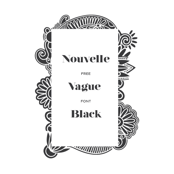 Nouvelle Vague Black