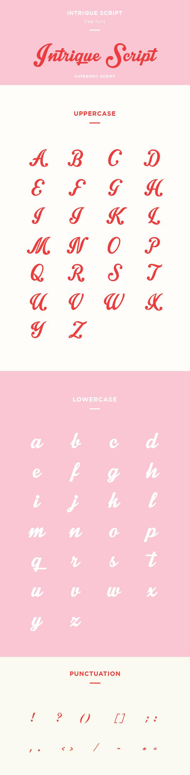 intrique script example