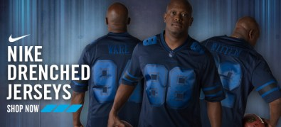 2013 Dallas Cowboys Nike Drenched Jersey Email Ad