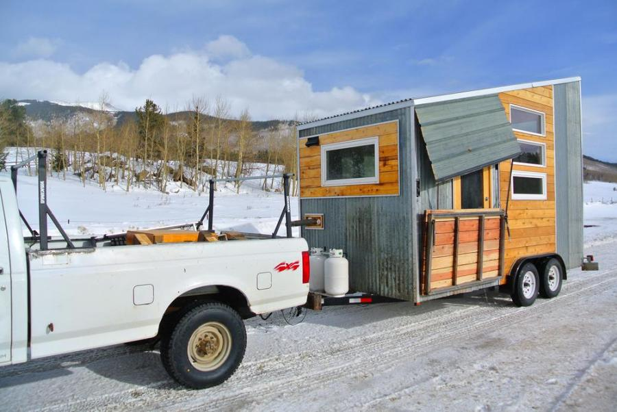 how to towing a tiny house