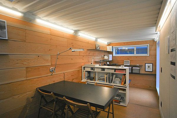 wood design container house