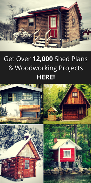 12000 shed & woodworking plans
