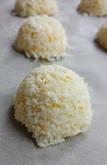 Orange Coconut Macaroons
