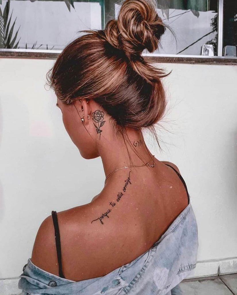 porque tu estas comigo tatuajes