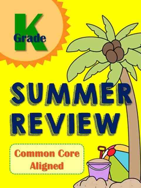 https://www.teacherspayteachers.com/Product/Summer-Review-Packet-for-Kindergartners-Common-Core-Aligned-1854551