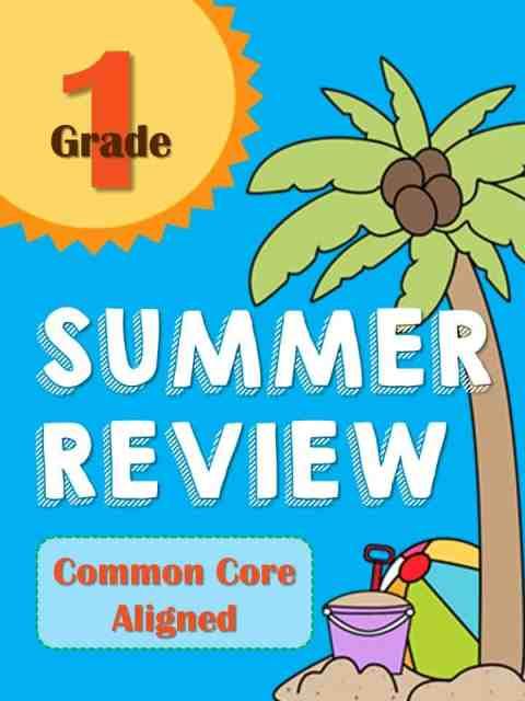 https://www.teacherspayteachers.com/Product/Summer-Review-Packet-for-1st-Grade-Common-Core-Aligned-1254828
