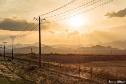 Sunset in San Luis Valley