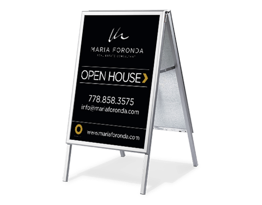Open House Sandwich Board