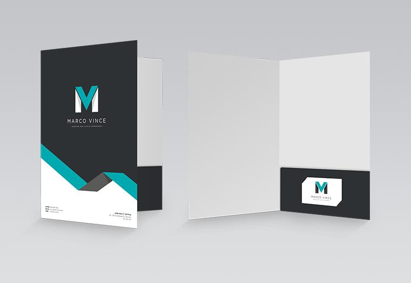 Marco Vince Presentation Folder