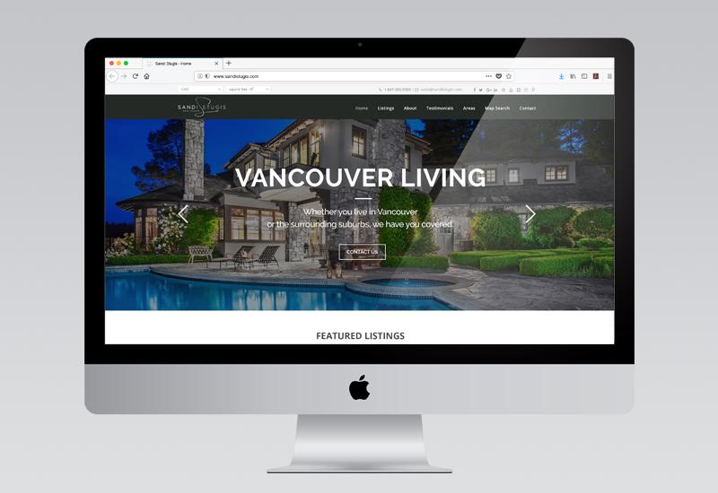 Sandi Stugis Website Design