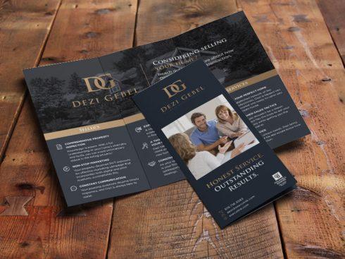 Real Estate Tri-fold Flyer