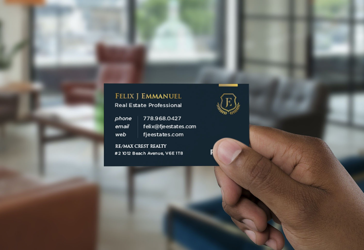 Take Your Realtor® Business Cards To The Next Level With Print Finishes