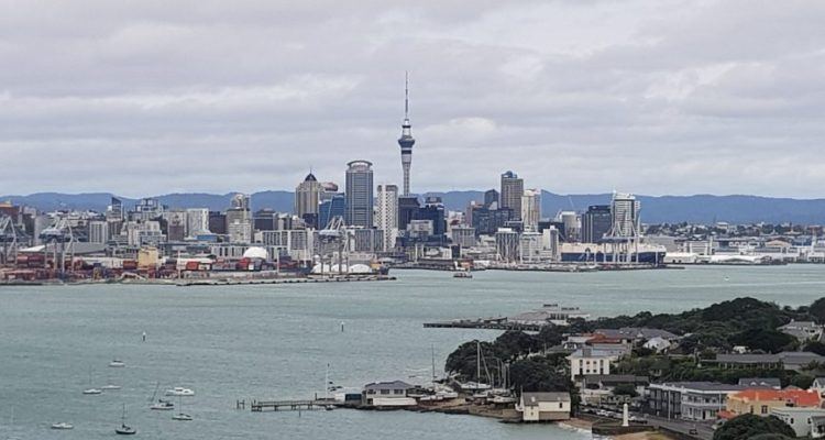 Te Araroa Trail Auckland harbour