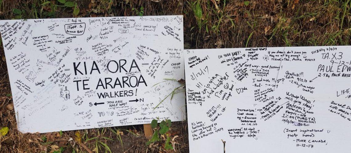 Te Araroa Trail Half way