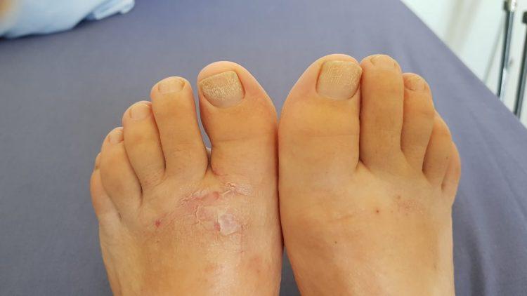 Te Araroa Trail feet