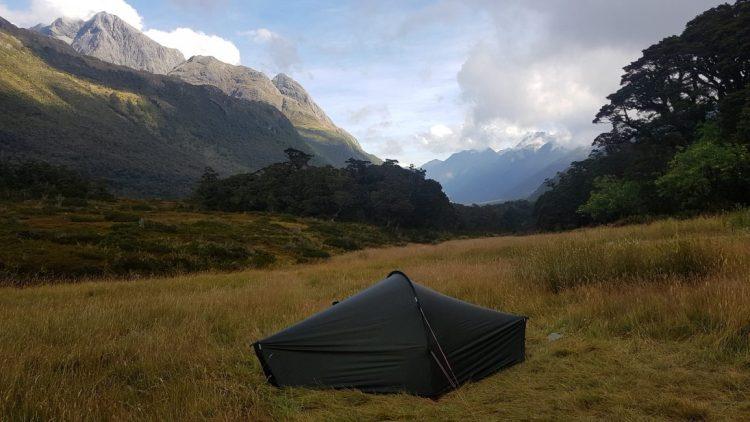 Te Araroa Trail Day 103 - Lake Howden campsite 30 mins from the DOC hut
