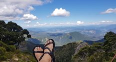 Te Araroa Trail Day 119 - View from Ghost Lake hut