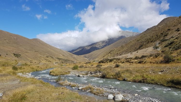 Te Araroa Trail Day 136 - Towards A-frame hut