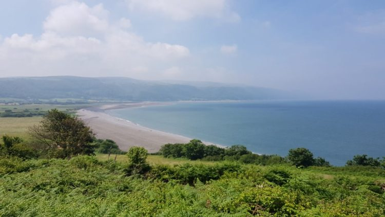 Overlooking Bossinton Bay to Porlock