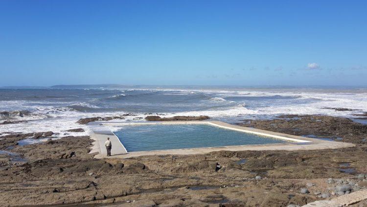 Tidal swimming pool in Westward Ho!