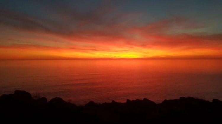 Sunset at 10pm