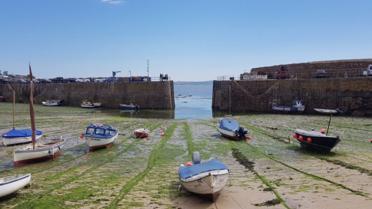 The harbour at Mousehole