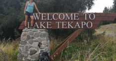 Te Araroa Trail Day 140 - My finish line Lake Tekapo