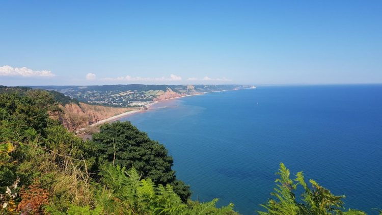 East from High Peak to Sidmouth