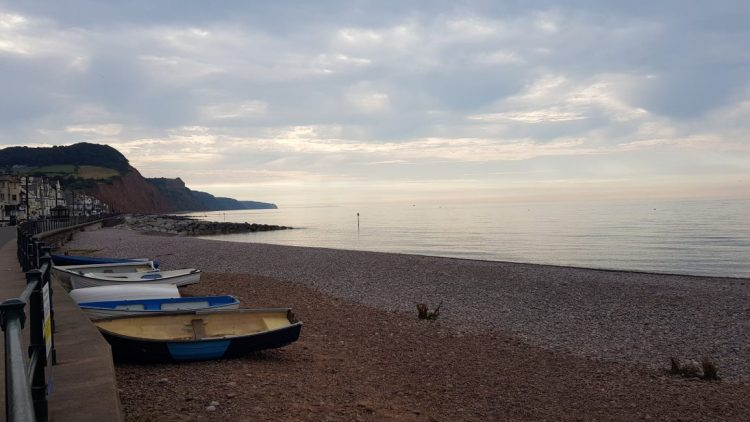 Early morning in Sidmouth