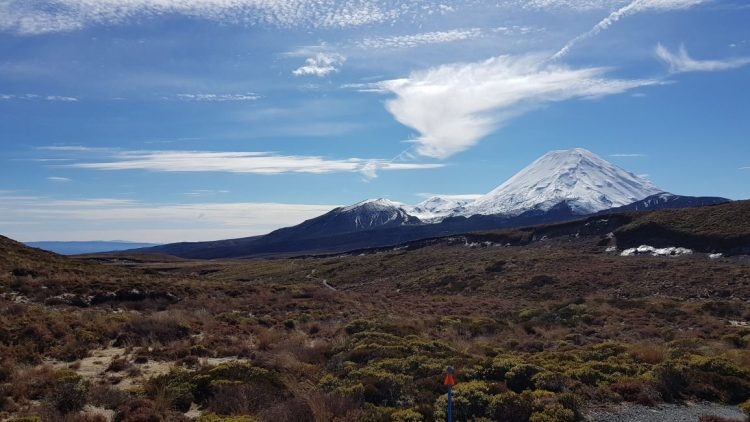 Mount Ngauruhoe and Tongariro
