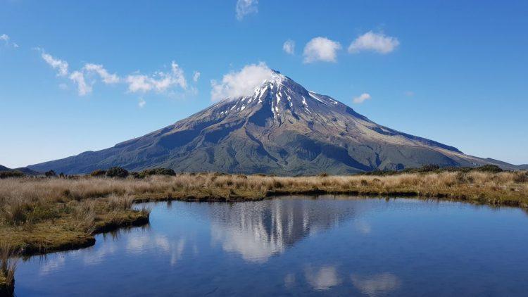 Mount Taranaki Pouakai tarn