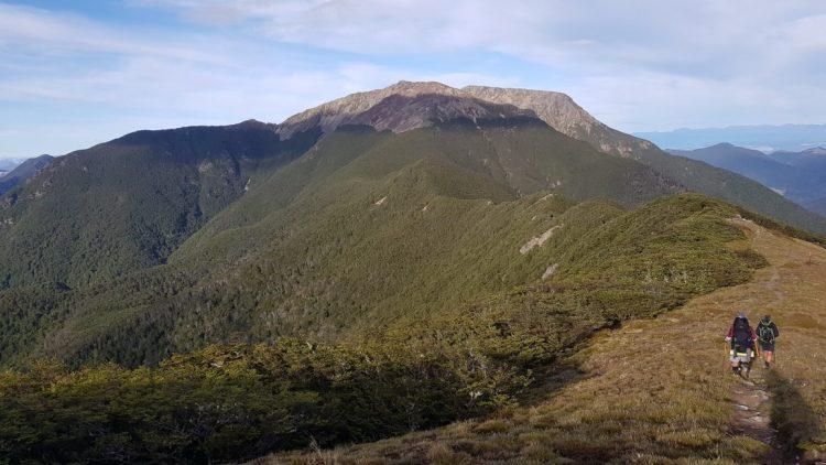 The ridge towards Little Rintoul