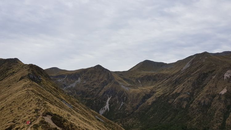 Coming onto the tops on the Kepler track