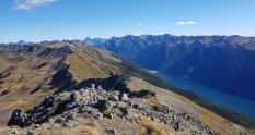 Parachute rocks track st arnaud Lake Rotoiti