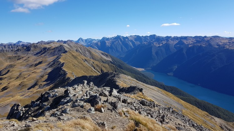 St Arnaud Range and Lake Rotoiti