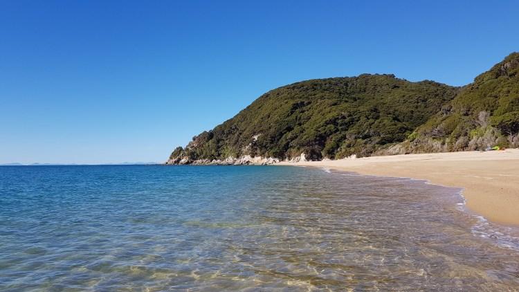 Anapai Bay looking South Abel Tasman National Park