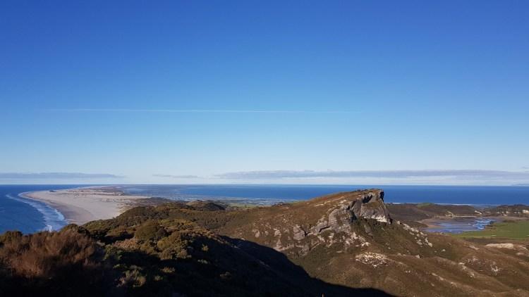 Farewell Spit from Pillar Point lighthouse