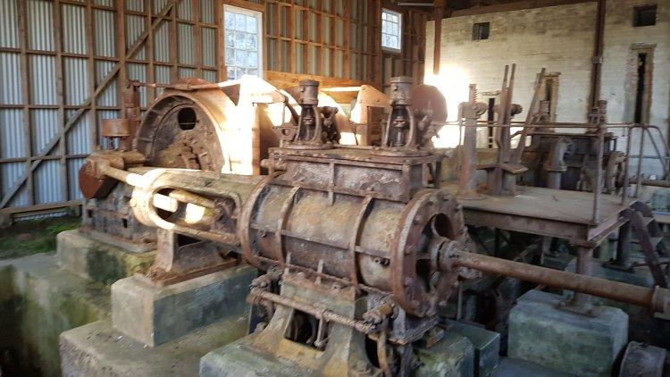 Inside the engine room at Big River mine