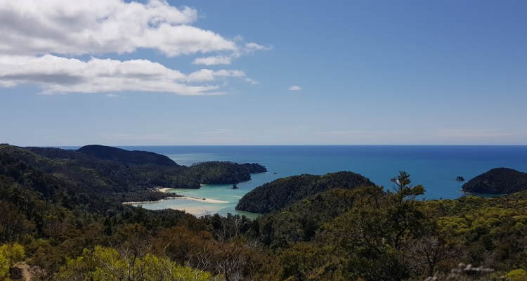 Torrent Bay from the Abel Tasman Inland Track