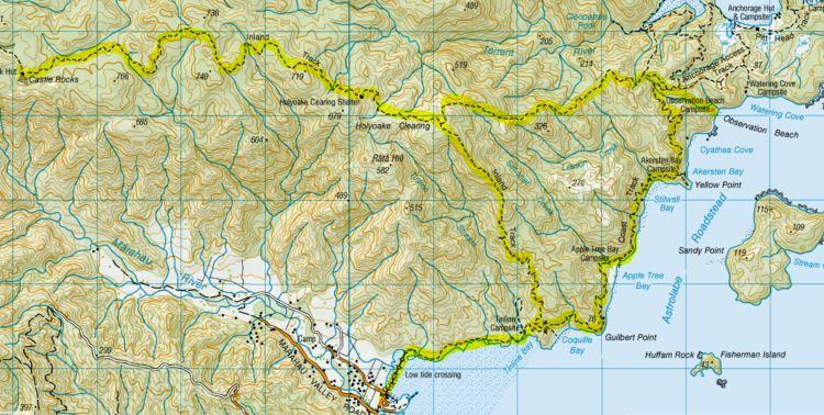 Abel Tasman Southern Loop